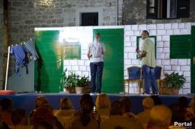 """Predstava """"Da nije jubavi"""" u Kaštel Starom , Kaštelansko kulturno ljeto 2018."""
